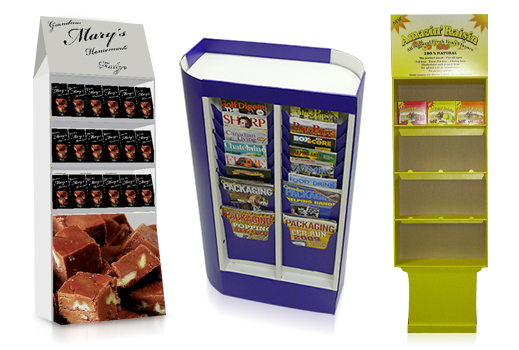 custom manufactured point of purchase, POP displays